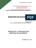 Mediacion y Organizacion Efectiva de Un Grupo (1)