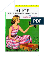 Caroline Quine Alice Roy 10 BV Alice Et Le Pigeon Voyageur 1933