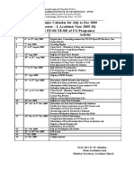 Academic Calendar 2009-10[1]