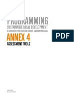 Annex 4 on Sustainable Local Development