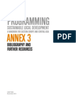 Annex 3 on Sustainable Local Development