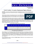 NC November 2013 Employment Report
