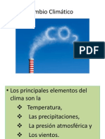1. Cambio Climatico