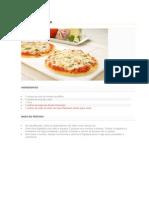 Pizza de Maisena