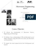 Lecture01 Introduction to Microwave Engineering