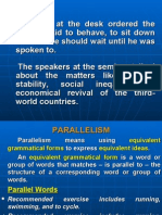 Faulty Parallelism
