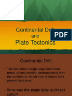 pangaea and plate tectonics ppt