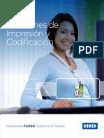 Maquina de Impresion de Tarjetas Fargo Dtc Family Printer Merida Mexico