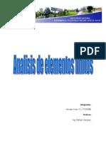 Analisis de Elementos Finitos