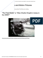 """""""The Fatal Mallet"""" or """"Was Charlie Chaplin's tramp in the IWW_"""" _ Cinema, Movies and Motion Pictures"""