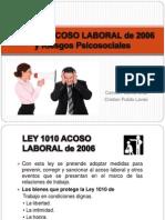 Acoso Laboral - Ley 1010