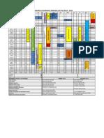 Calendario Académico  2013 - 2014 APROBADO