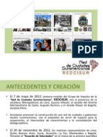 Presentación REDCISUR - Foro Internacional
