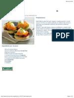 LIDL Tartine Di Salmone in Salsa Di Melone