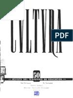 Revista Cultura 50