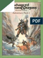 AD&D 1.0 Adventure Pack 1