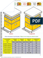 Apiservices - Beekeeping - Apiculture - Beehives plans - Plans et côtes des ruches