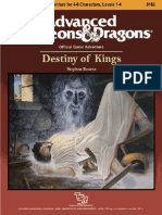 AD&D 1.0 N3 Level 1-4 Adventure - Destiny of Kings