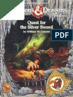 D&D 1.0 9342 Level 2-3 Adventure - Quest for the Silver Sword
