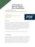 Abordagens de ensino e aprendizagem de línguas