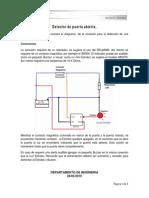 Aplicacion Detector de Puerta Abierta