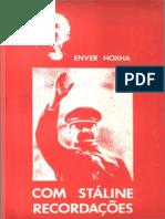 Com Stalin - Recordações - ENVER HOXHA