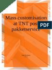 Mass Customisation at TNT Post Pakketservice