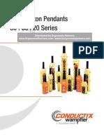 Conductix Series 80-60-20 Push Button Station Catalog