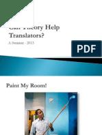 Can Theory Help Translators - Ed