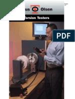 Torsion Testers
