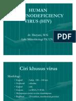 30485781 Human Immunodeficiency Virus Hiv