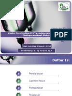 Kanker Paru Stadium IV (Tipe Adenokarsinoma)