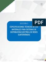 SECCI+ôN 3 ESPEC TECNICA