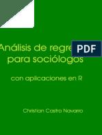 Analisis de Regresion Para Sociologos