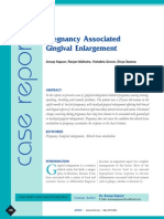 JOHCD- Pregnancy Associated Gingival Enlargement