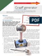 Accelerate Van de Graaff Generator 58597