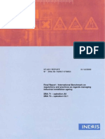 Final Report - International Benchmark Regulations and Practices as Regards Managing Industrial Installation Ageing