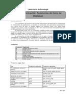Guía Nº1 - Parámetros de MediaLab
