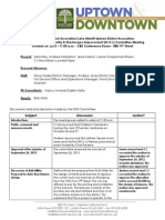 DISI Meeting October 24, 2013 Minutes