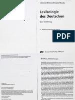 Lexikologie des Deutschen