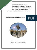 Informe de Rectificaciones a Observaciones Por a.n.h.