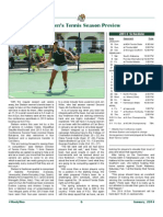 2014 Stetson Tennis Preview in #HootyHoo Magazine