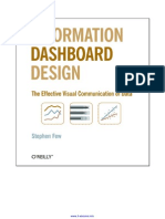 Information Dashboard Design