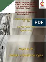 CAP IV - ANALISIS Y DISEÑO DE VIGAS