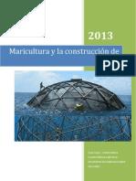 Maricultura y la construcción de jaulas (2)