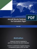 Formation Flight Presentation