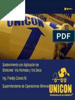 02-GM13 Sostenimiento Con Aplicacion de Shotcrete via Humeda y via Seca-PERU