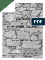 Mur en Pierre Seches