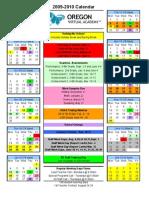 ORVA Student Calendar 2009-10 v3