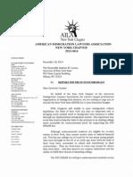 AILA-NY NYS Dream Act Letter